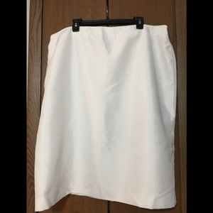 Dresses & Skirts - Simply Pure White Skirt